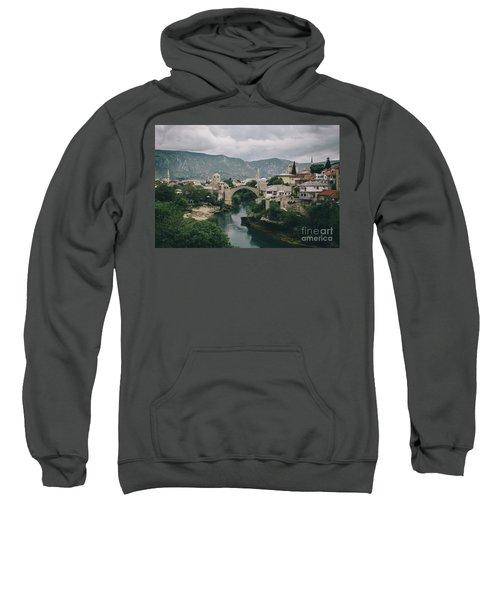 Old Town Of Mostar Sweatshirt