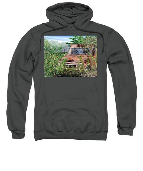 Old Truck Rusting Sweatshirt
