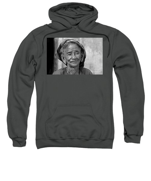 Old Vietnamese Woman Sweatshirt