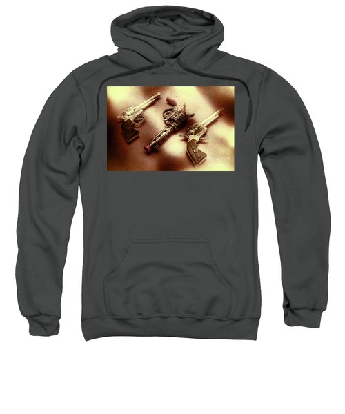 Old Western At Play Sweatshirt