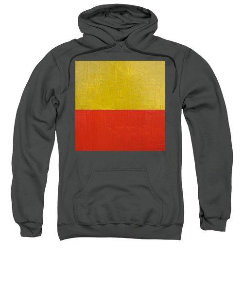 Olive Fire Engine Red Sweatshirt