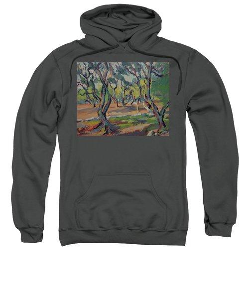 Olive Yard Paxos Greece Sweatshirt
