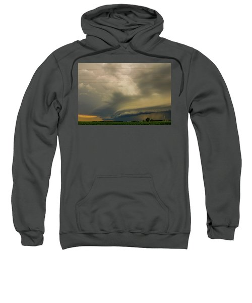 Ominous Nebraska Outflow 007 Sweatshirt