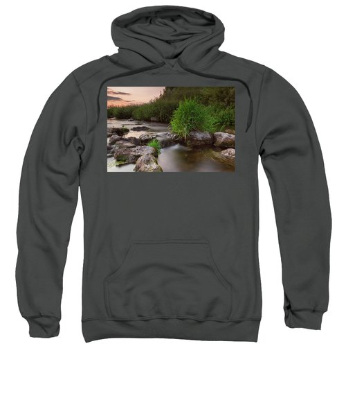 On The Edge Of Time Sweatshirt