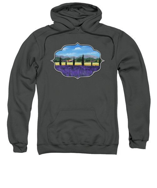 On The Way To Roussillon Sweatshirt