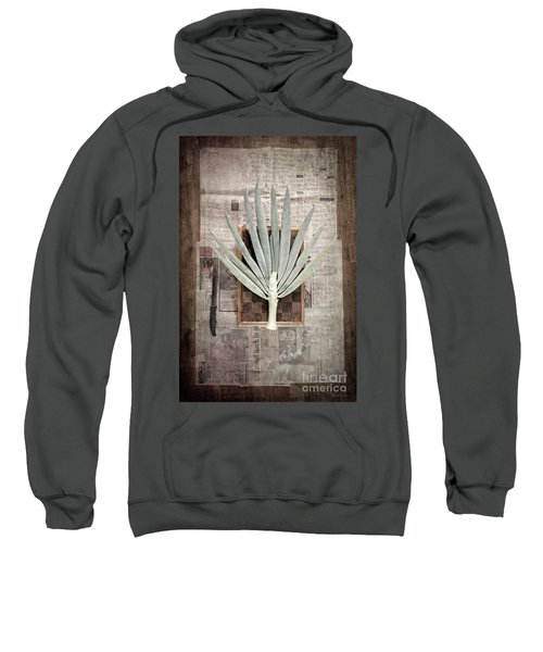 Sweatshirt featuring the photograph Onion by Linda Lees