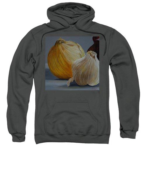 Onions And Garlic Sweatshirt