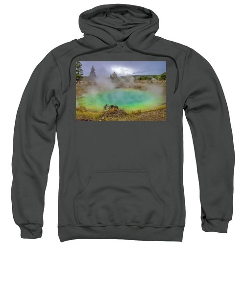 Opal Spring Yellowstone National Park Sweatshirt