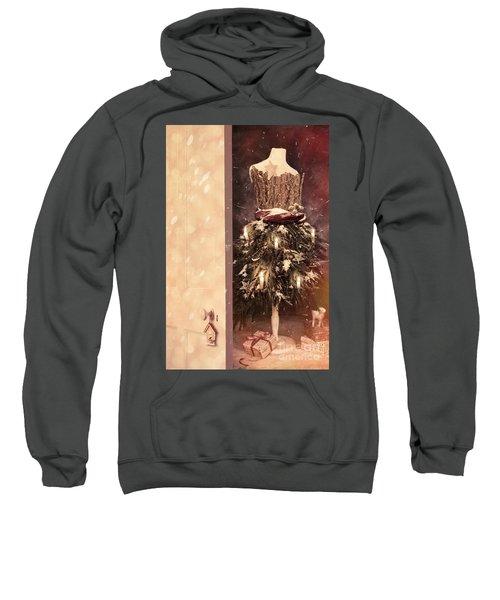 Open Door Into Christmas Sweatshirt