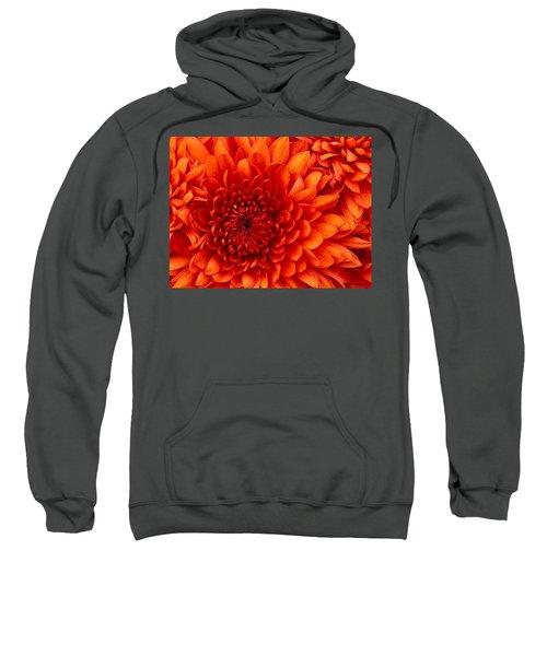 Orange Bloom Sweatshirt