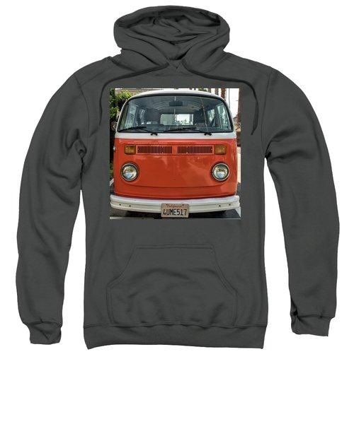 Orange Bus Sweatshirt
