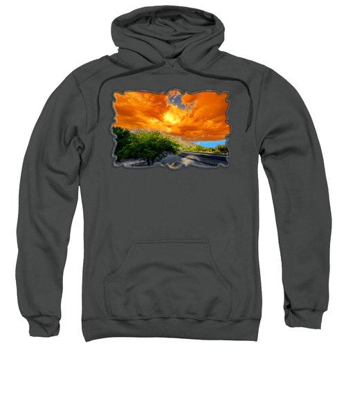 Orange Crush H07 Sweatshirt