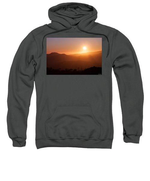 Orange Euphoria Sweatshirt