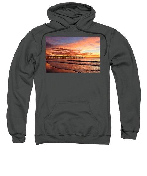 Orange Pier Sweatshirt