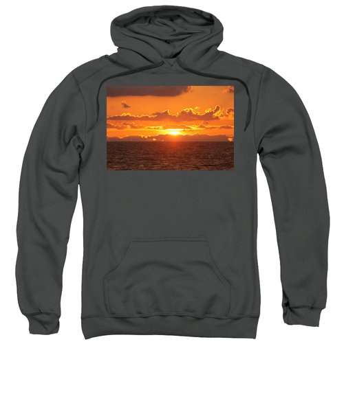 Orange Skies At Dawn Sweatshirt