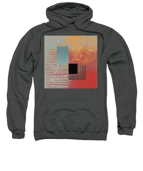 Orange Splash Sweatshirt