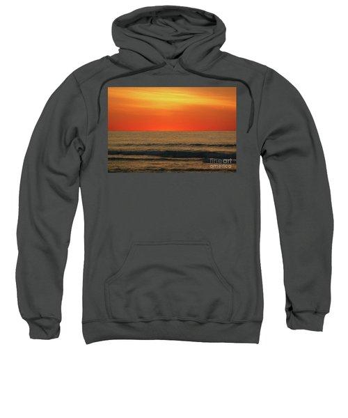 Orange Sunset On The Jersey Shore Sweatshirt
