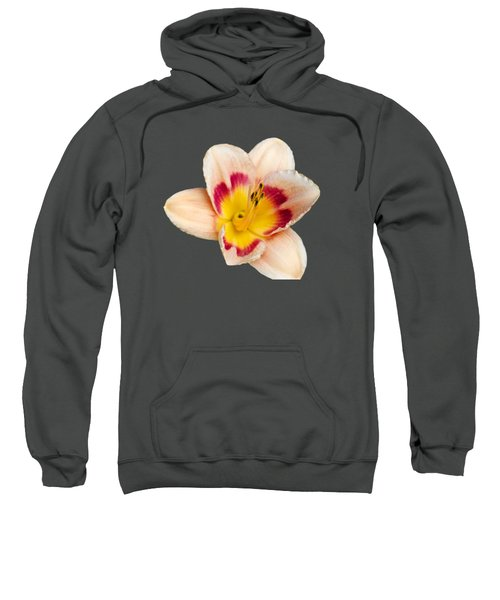 Sweatshirt featuring the photograph Orange Daylilies by Christina Rollo