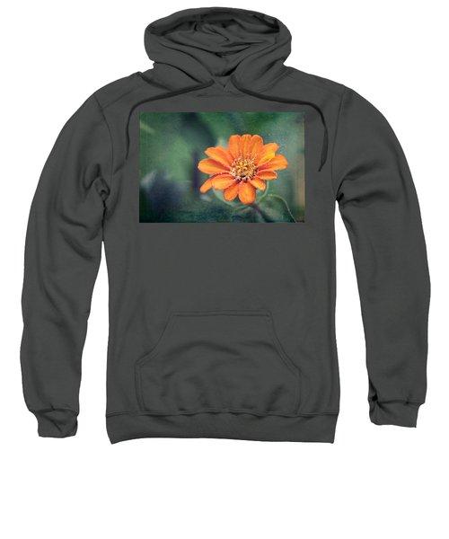 Orange Zinnia Sweatshirt