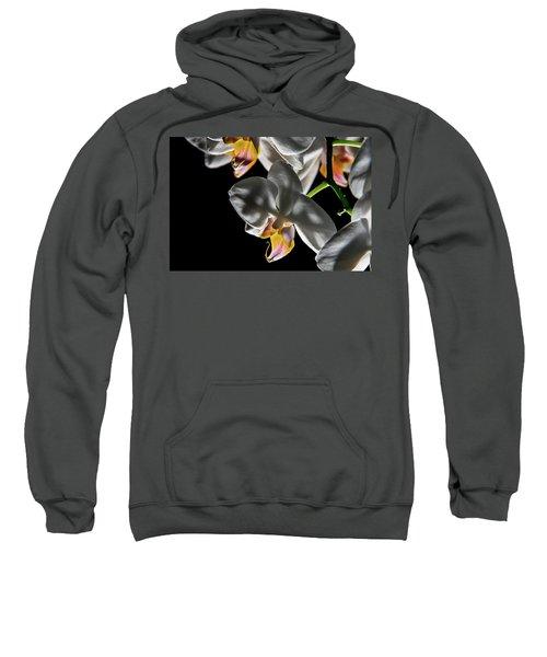 Orchid On Fire Sweatshirt