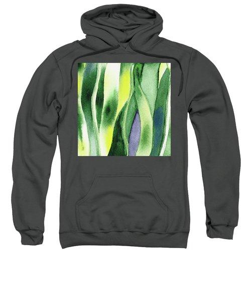Organic Abstract By Nature I Sweatshirt