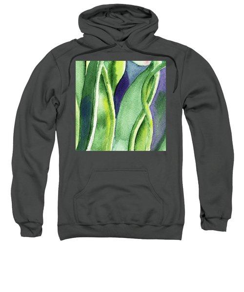 Organic Abstract By Nature II Sweatshirt