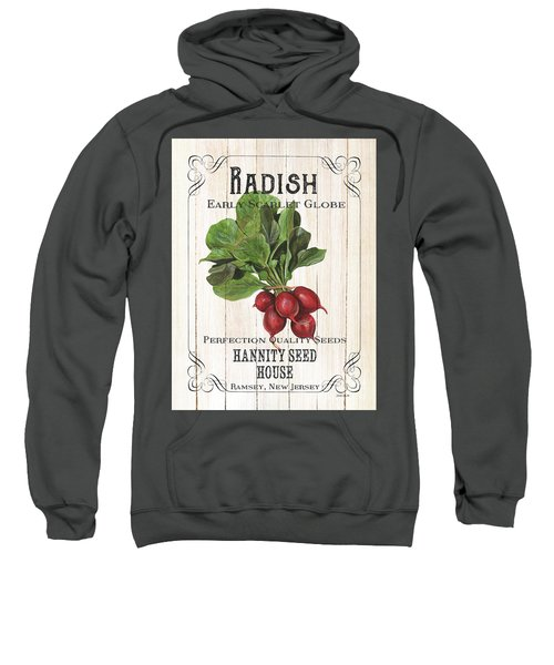 Organic Seed Packet 3 Sweatshirt by Debbie DeWitt