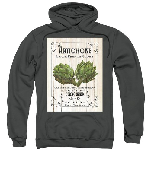 Organic Seed Packets 1 Sweatshirt by Debbie DeWitt