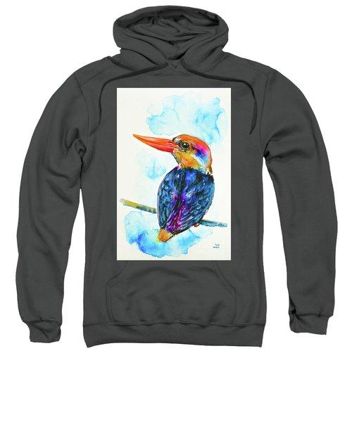 Oriental Dwarf Kingfisher Sweatshirt