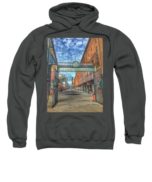 Oriole Park At Camden Yards - Eutaw Street Gate Sweatshirt