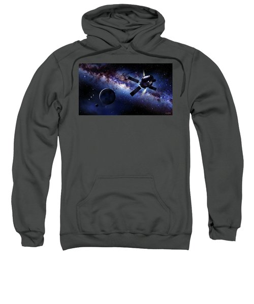 Orion Framed By The Milky-way Sweatshirt