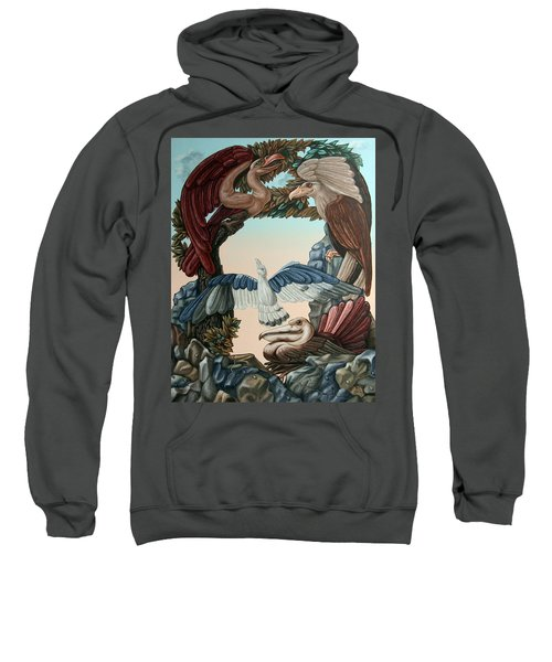 Ornithological Symphony By Ludwig Van Beethove Sweatshirt