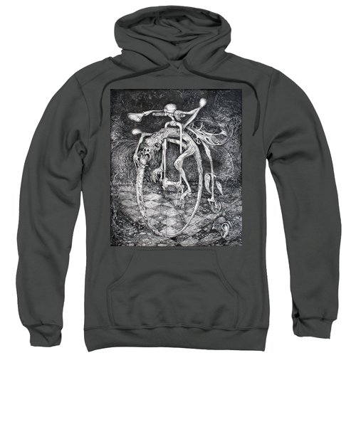 Ouroboros Perpetual Motion Machine Sweatshirt