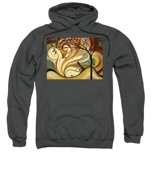 Out West Original Madart Painting Sweatshirt