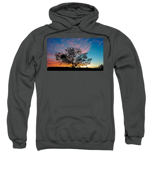 Outback Sunset Pano Sweatshirt