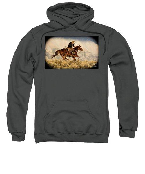 Outlaw Kelly Western Art By Kaylyn Franks Sweatshirt