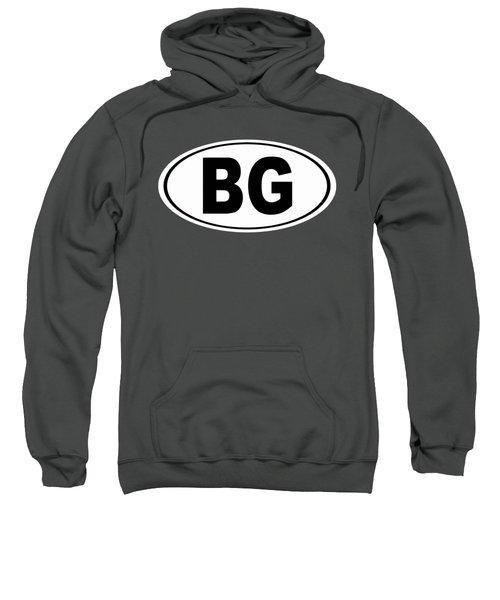 Oval Bg Bowling Green Kentucky Home Pride Sweatshirt