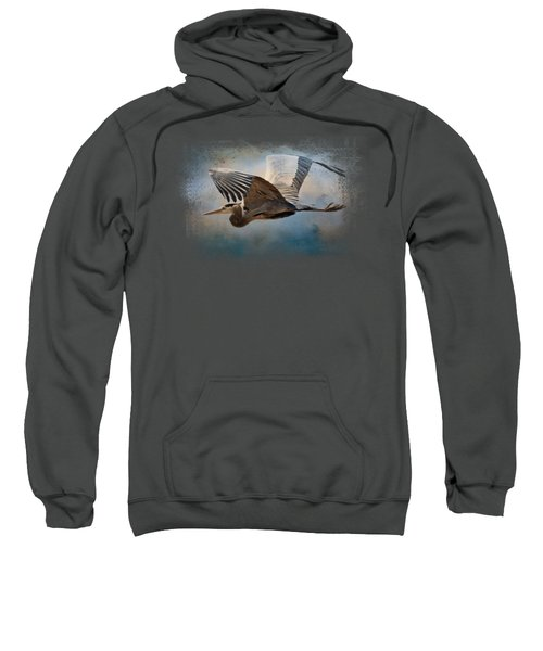 Over Ocean Skies Sweatshirt by Jai Johnson