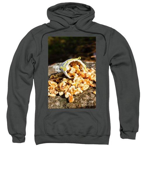 Overflowing Sack Of Fresh Walnuts Sweatshirt