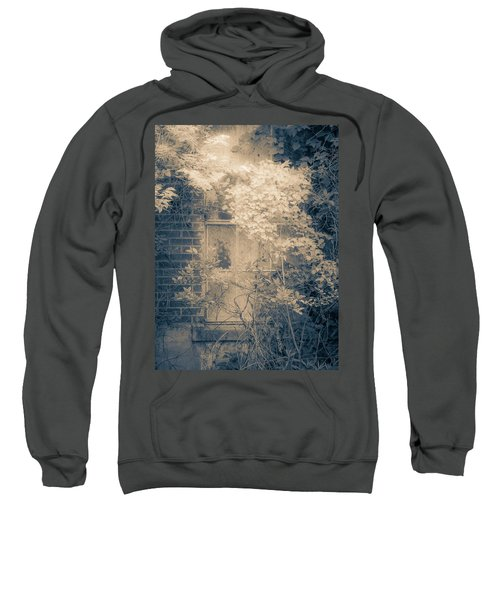Overgrowth On Abandoned Pumping Station Sweatshirt