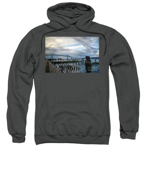 Overlooking The Bridge Sweatshirt