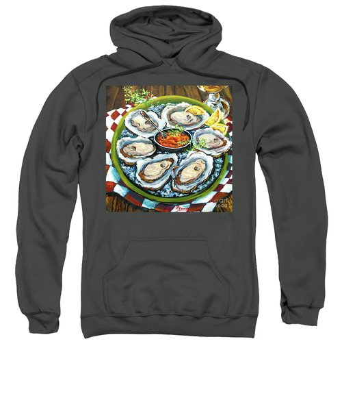 Oysters On The Half Shell Sweatshirt