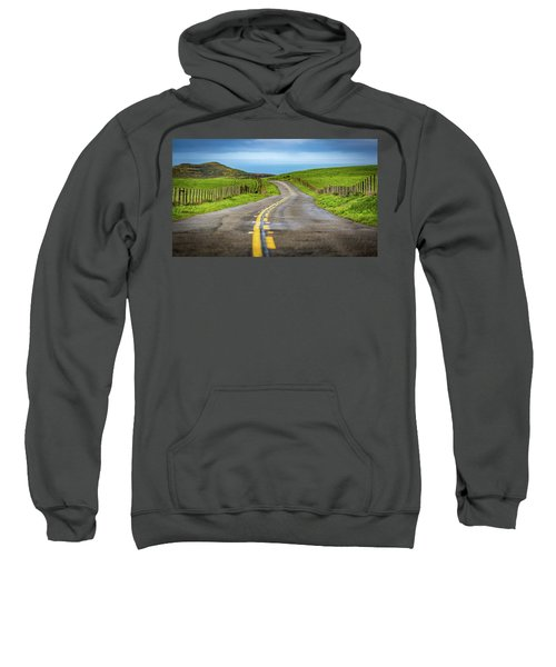 Pacific Coast Road To Tomales Bay Sweatshirt