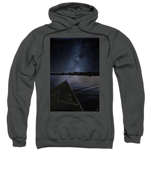 Paddling The Milky Way Sweatshirt