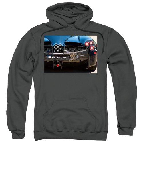 Pagani Huayra Black Sweatshirt