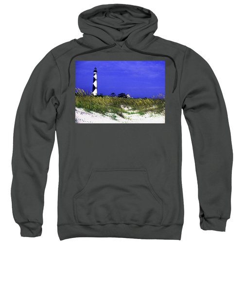 Painted Cape Lookout Lighthouse Sweatshirt