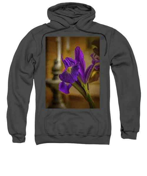 Painted Iris Sweatshirt