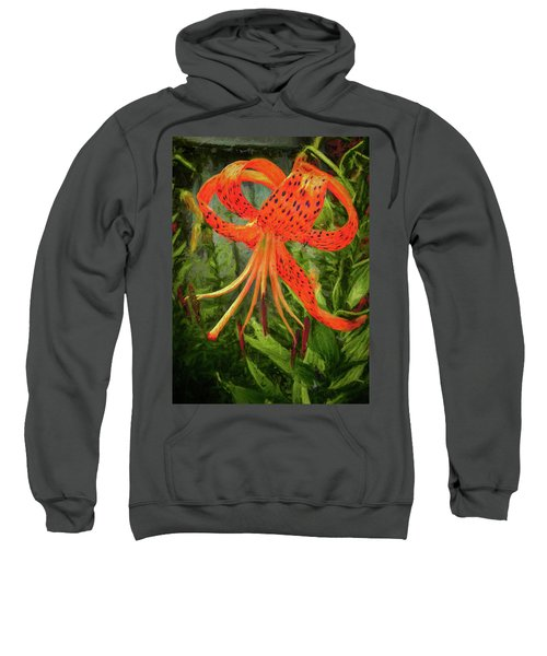 Painted Tiger Sweatshirt