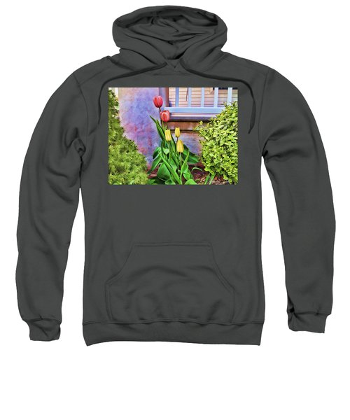 Painted Tulips Sweatshirt