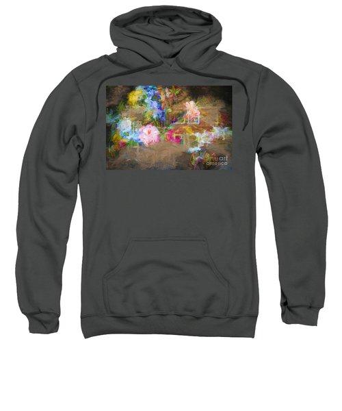 Painterly Posy Sweatshirt